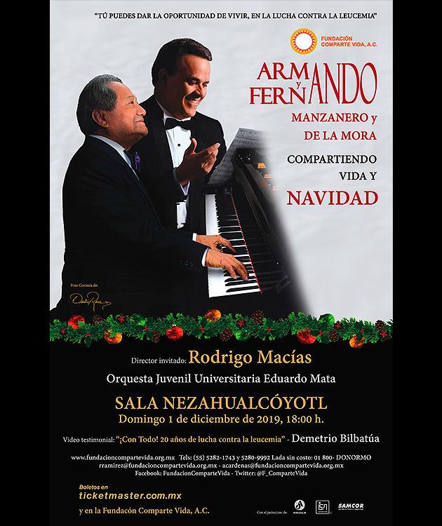 Armando Manzanero - Compositor y Aranza - Cantante Mexicana - Lisbeth Polo - Cantante Colombiana - David Ross - Fotógrafo de Músicos y Artistas