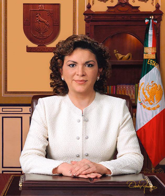 Ivonne Ortega Pacheco - Gobernadora del Estado de Yucatán 2007-2012 - David Ross - Fotógrafo de Gobernadores