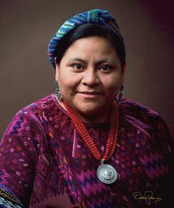 Rigoberta Menchú Tum - Líder indígena guatemalteca - David Ross - Fotógrafo de Personalidades