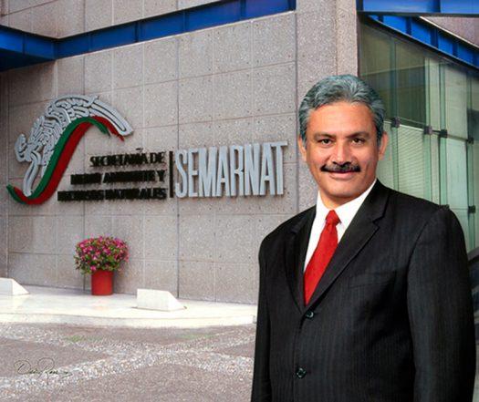 Alberto Cárdenas Jiménez - Secretario del Medio Ambiente y Recursos Naturales - David Ross - Fotógrafo de Políticos