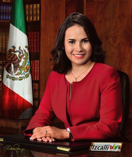 Alejandra del Moral Vela - Presidenta Municipal de Cuautitlán Izcalli 2009-2012 - David Ross - Fotógrafo de Presidentes Municipales