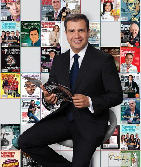 Alejandro Rodríguez Ayala - Editor de Campaigns and Elections América Latina - David Ross - Fotógrafo de Comunicadores