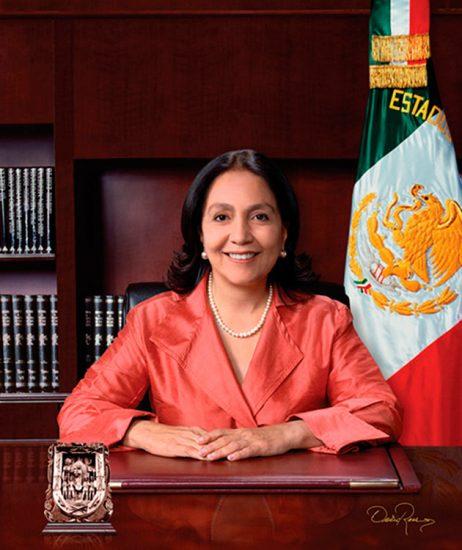 Amalia Dolores García Medina - Gobernadora de Zacatecas 2004-2010 - David Ross - Fotógrafo de Gobernadores