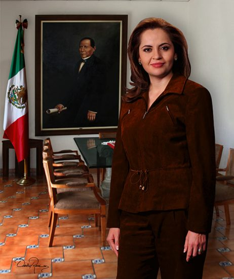 Ana Lilia Herrera Anzaldo - Presidenta Municipal de Metepec 2009-2012 - David Ross - Fotógrafo de Presidentes Municipales