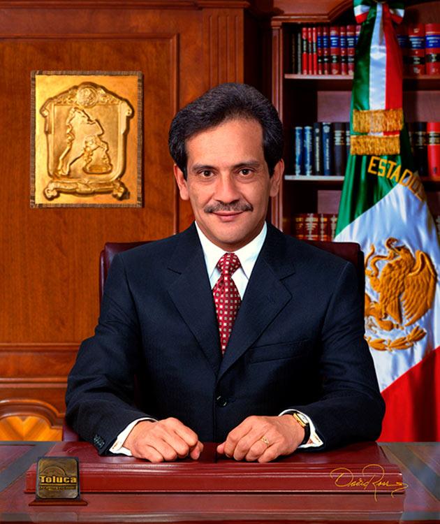 Armando Enríquez Flores - Presidente Municipal de Toluca 2003-2006 - David Ross - Fotógrafo de Presidentes Municipales