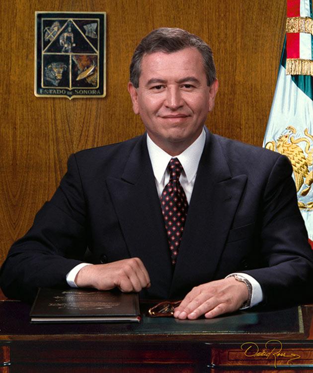 Armando López Nogales - Gobernador de Sonora 1997-2003 - David Ross - Fotógrafo de Gobernadores