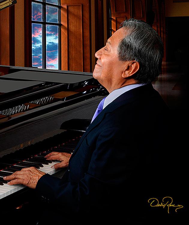 Armando Armando Manzanero - Compositor y Aranza - Cantante Mexicana - Lisbeth Polo - Cantante Colombiana - David Ross - Fotógrafo de Músicos y Artistas