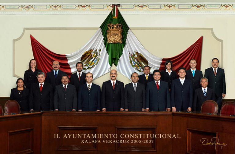 Ayuntamiento de Xalapa, Veracruz 2005-2007 - David Ross - Fotografo de Grupos