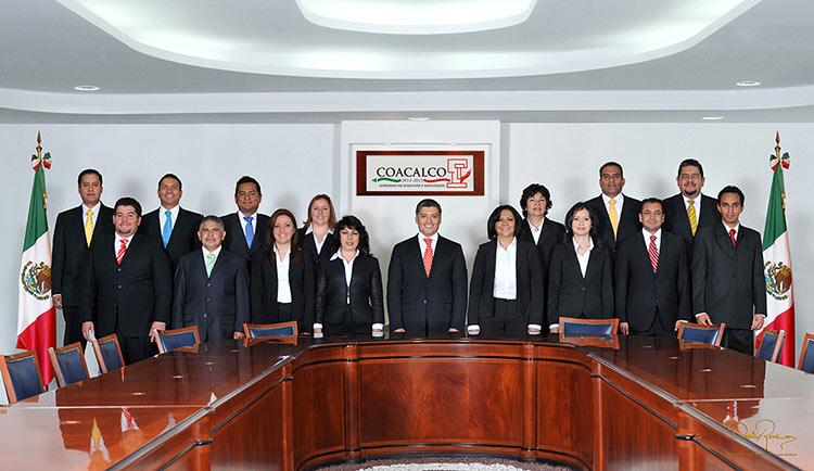 Ayuntamiento de Coacalco 2013-2015 - David Ross - Fotografo de Grupos