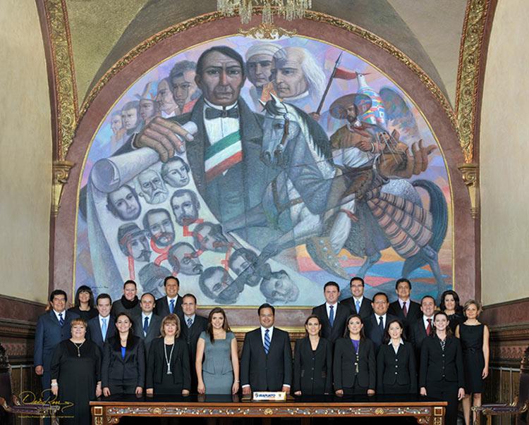 Ayuntamiento de Irapuato, Guanajuato - Secretarios - 2012 - David Ross - Fotografo de Grupos