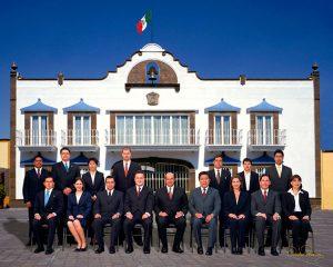 Ayuntamiento de Metepec 2003-2006 - David Ross - Fotografo de Grupos