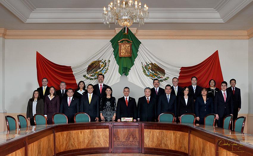 Ayuntamiento de Tlalnepantla - Cabildo - 2000-2002 - David Ross - Fotografo de Grupos