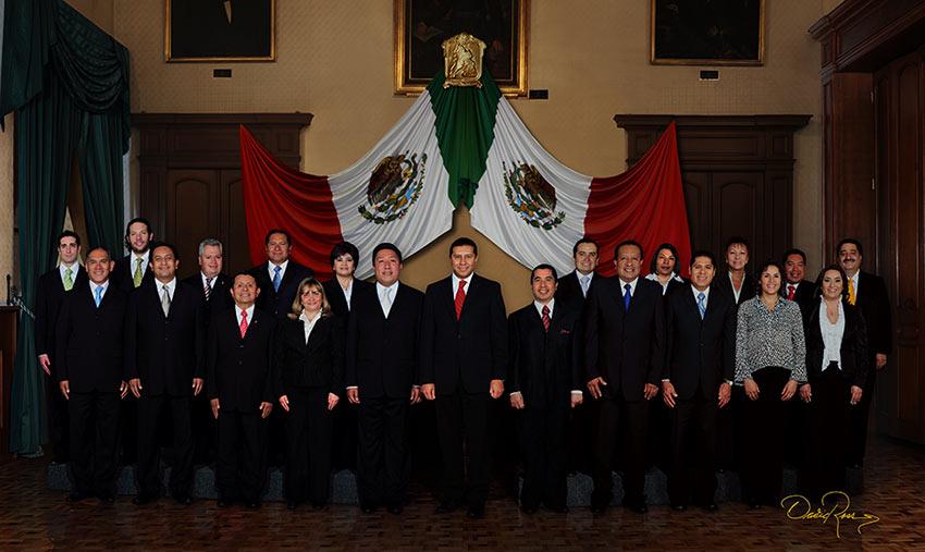 Ayuntamiento de Toluca 2006-2009 - David Ross - Fotografo de Grupos