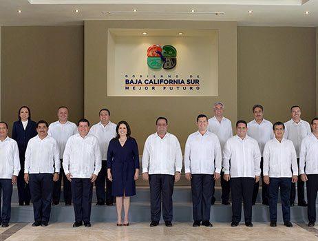 Baja California Sur - Secretarios 2015-2021 - David Ross - Fotografo de Grupos
