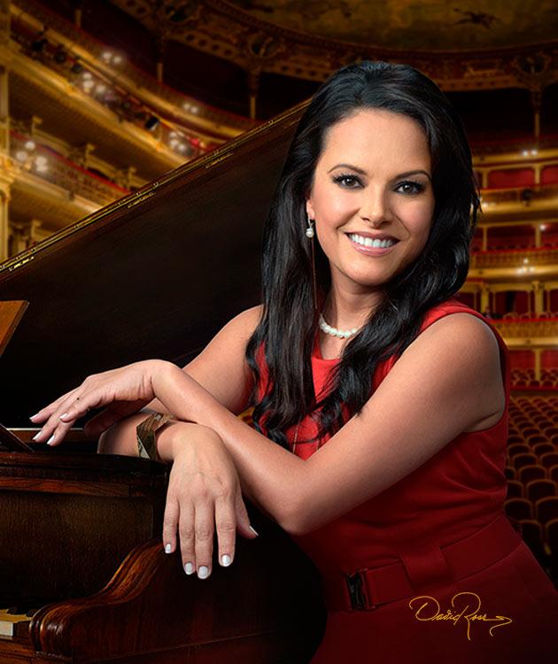 Bárbara Padilla - Cantante soprano de ópera mexicana - David Ross - Fotógrafo de Artistas