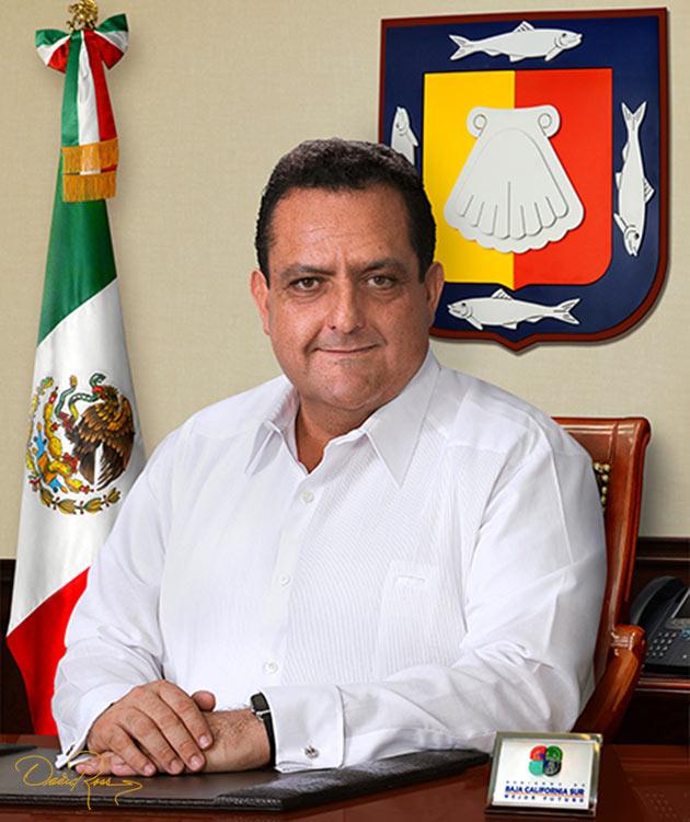 Carlos Mendoza Davis - Gobernador del Estado de Baja California Sur - David Ross - Fotógrafo de Gobernadores