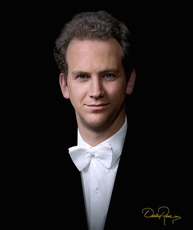 Carlos Miguel Prieto - Director titular de la Orquesta Sinfónica Nacional y Violinista - David Ross - Fotógrafo de Músicos y Artistas