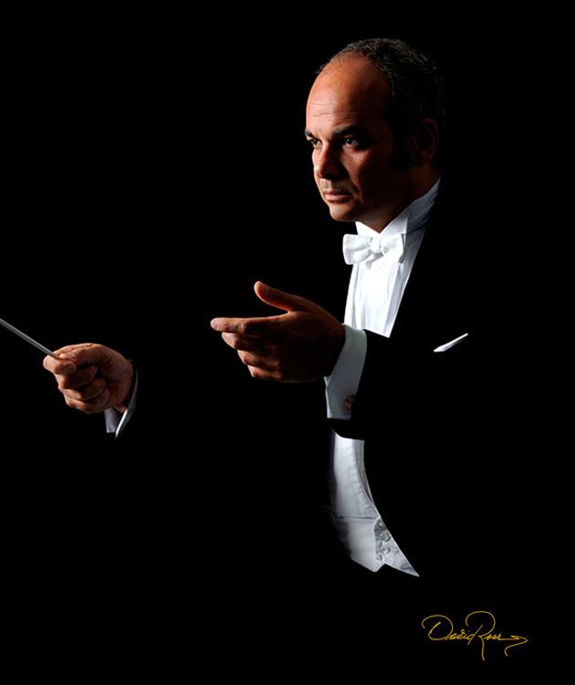 Carlos Spierer - Director de Orquesta de la Universidad de Houston, Texas y Escuela Superior de Música de Hamburgo - David Ross - Fotógrafo de Músicos y Artistas