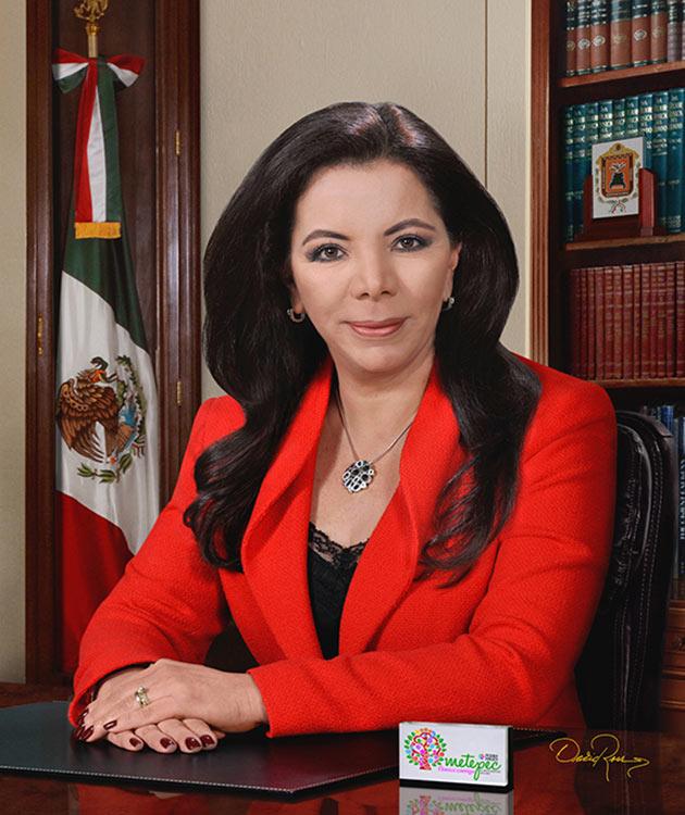 Carolina Monroy del Mazo - Presidenta Municipal de Metepec David Ross - Fotógrafo de Presidentes Municipales