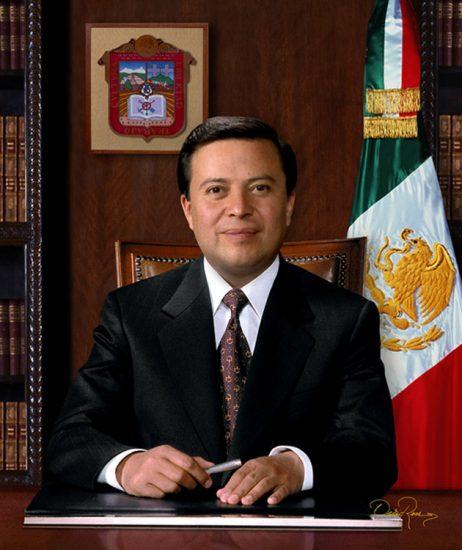 César Camacho Quiroz - Gobernador del Estado de México 1995-1999 - David Ross - Fotógrafo de Gobernadores