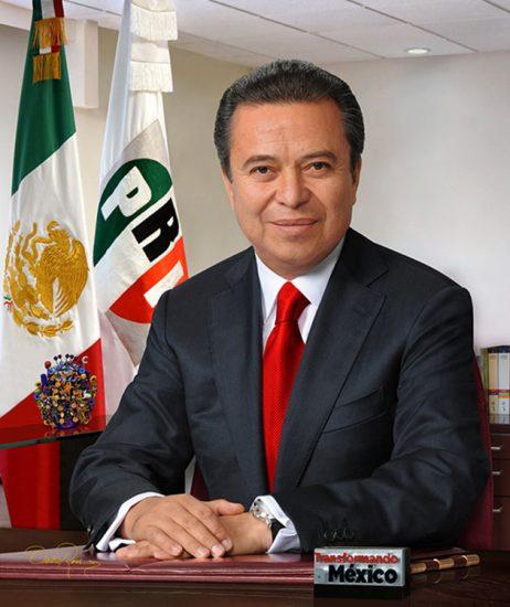 César Camacho Quiróz - Presidente del Partido Revolucionario Institucional - David Ross - Fotógrafo de Políticos