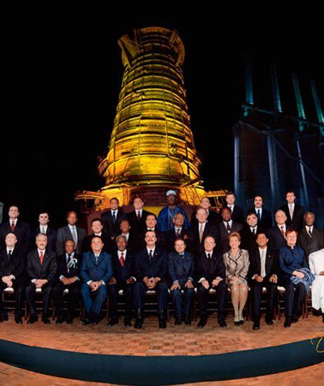 Cumbre Mundial de Monterrey 2002 - David Ross - Fotografo de Grupos