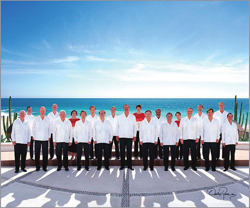 Cumbre de APEC, Los Cabos 2002 - David Ross - Fotografo de Grupos