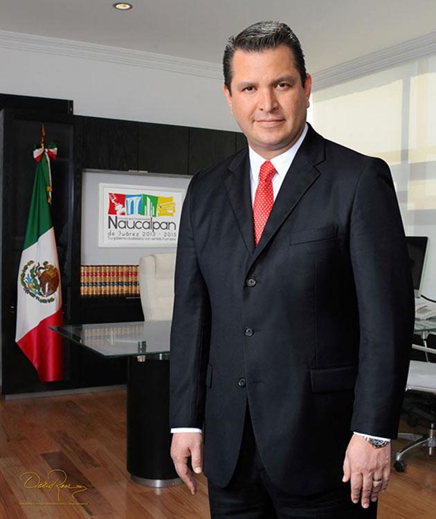 David Sánchez Guevara - Presidente Municipal de Naucalpan de Juárez 2013-2015 - David Ross - Fotógrafo de Presidentes Municipales