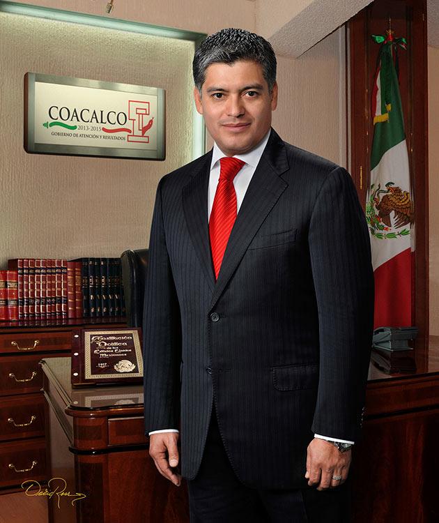 David Sánchez Isidoro - Presidente Municipal de Coacalco de Berriozábal 2013-2015 - David Ross - Fotógrafo de Presidentes Municipales