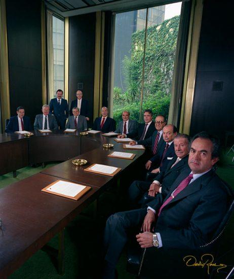 Directivos Industrias Peñoles - David Ross - Fotógrafo de Grupos de Empresarios