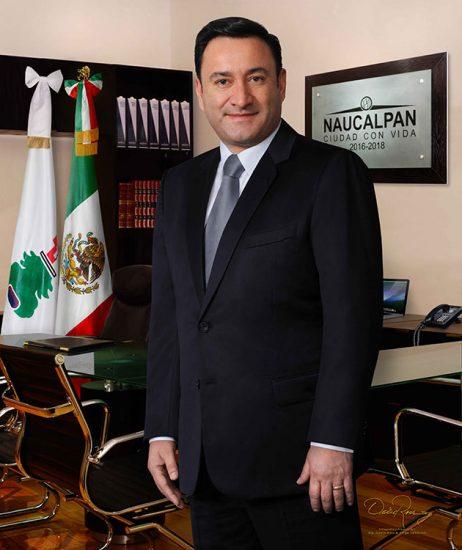 Edgar Armando Olvera Higuera - Presidente Municipal de Naucalpan de Juárez 2016-2018 - David Ross - Fotógrafo de Presidentes Municipales
