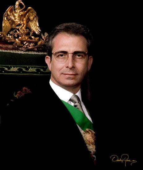 Ernesto Zedillo - Presidente de México - David Ross - Fotógrafo de Presidentes