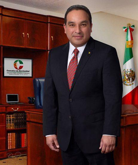 Erwin Javier Castelán Enríquez - Presidente Municipal de Coacalco 2016-2018 - David Ross - Fotógrafo de Presidentes Municipales