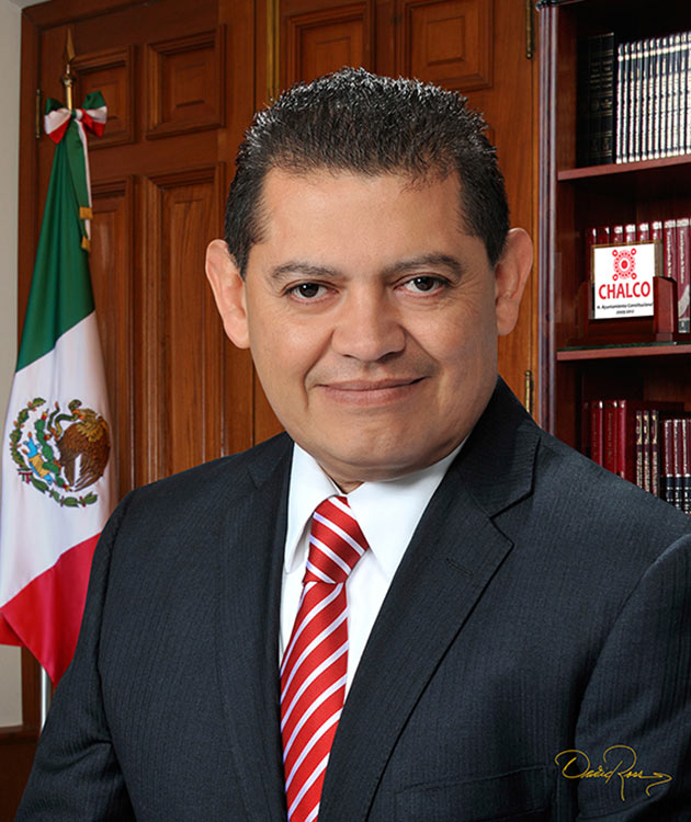 Esteban Hernández Cureño - Presidente Municipal de Chalco 2009-2012 - David Ross - Fotógrafo de Presidentes Municipales