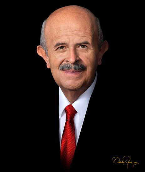 Fausto Vallejo Figueroa - Político y abogado mexicano. Gobernador del estado de Michoacán y Presidente Municipal de Morelia - David Ross - Fotógrafo de Políticos
