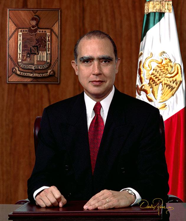 Fernando de Jesús Canales Clariond - Gobernador de Nuevo León 1997-2003 - David Ross - Fotógrafo de Gobernadores