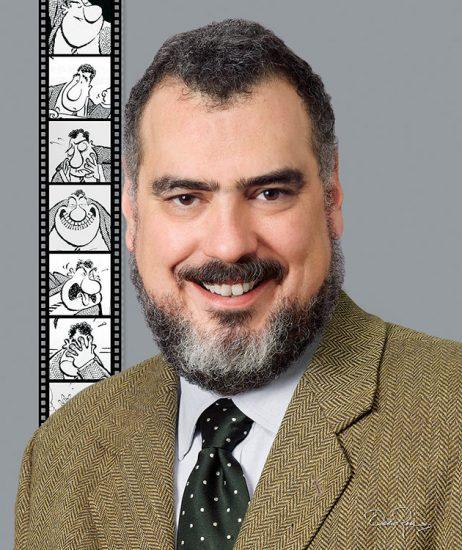 Francisco José Calderón Lelo de Larrea (Paco Calderón) - Caricaturista e Historietista - David Ross - Fotógrafo de Comunicadores