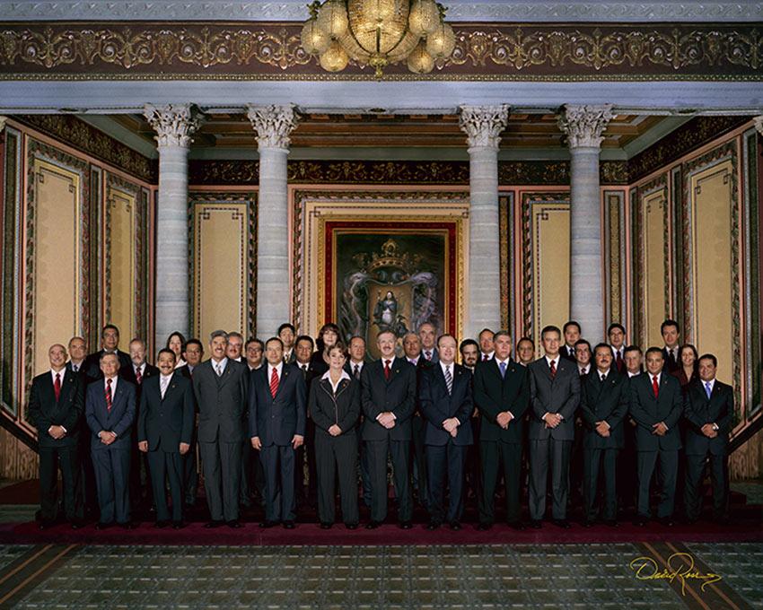 Gabinete Estatal Guanajuato 2000-2006 - David Ross - Fotografo de Grupos