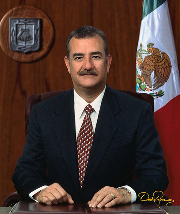 Guillermo Mercado Romero - Gobernador de Baja California Sur 1993-1999 - David Ross - Fotógrafo de Gobernadores