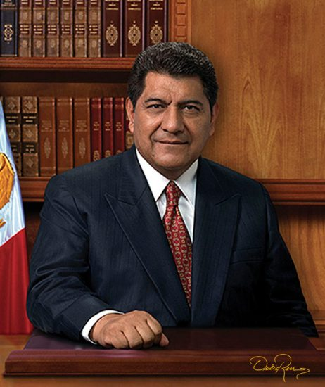 Héctor Israel Ortiz Ortiz - Gobernador de Tlaxcala 2005-2011 - David Ross - Fotógrafo de Gobernadores