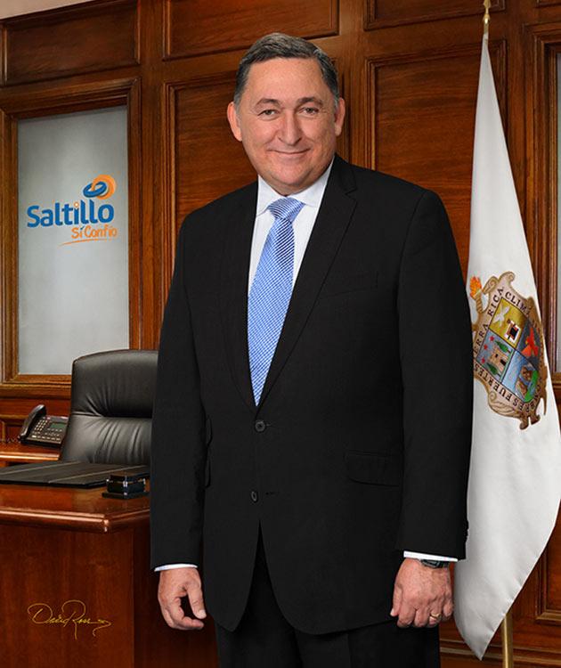 Isidro López Villarreal - Presidente Municipal de Saltillo 2014-2017 - David Ross - Fotógrafo de Presidentes Municipales