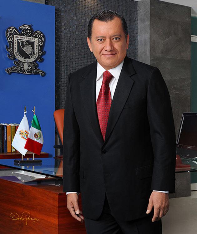 Javier Saldaña Almazán - Rector Universidad Autónoma de Guerrero - David Ross - Fotógrafo de Académicos