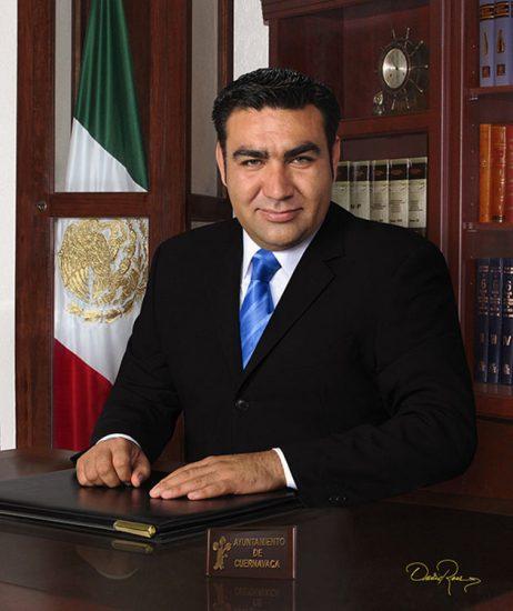 Joaquín Roque González Cerezo - Presidente Municipal de Cuernavaca 2009 - David Ross - Fotógrafo de Presidentes Municipales
