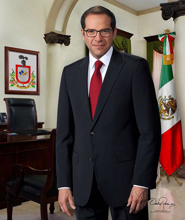 José Ignacio Peralta Sánchez - Gobernador de Colima 2016-2021 - David Ross - Fotógrafo de Gobernadores