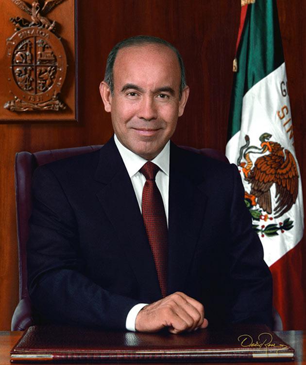 Juan Sigfrido Millán Lizárraga - Gobernador de Sinaloa 1999-2004 - David Ross - Fotógrafo de Gobernadores