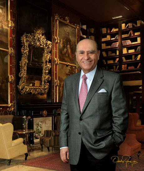 Julio María Sanguinetti - Presidente de la República de Uruguay - David Ross - Fotógrafo de Políticos