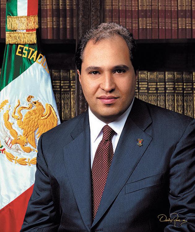 Lázaro Cárdenas Batel - Gobernador de Michoacán - David Ross - Fotógrafo de Gobernadores
