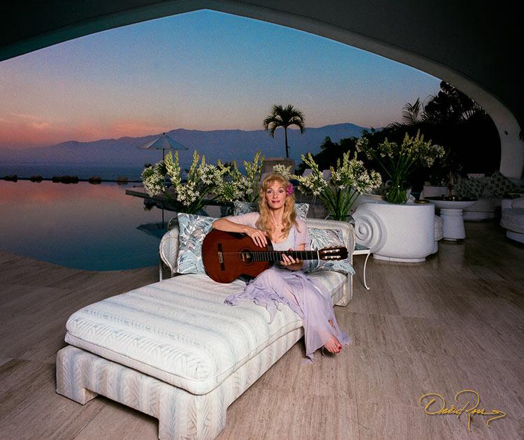 Liona Boyd - Guitarrista - David Ross - Fotógrafo de Músicos y Artistas