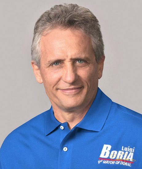Luigi Boria - Alcalde del Condado de Miami - David Ross - Fotógrafo de Políticos