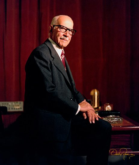 Luis G. Legorreta - Gerente del Banco Nacional de México - David Ross - Fotógrafo de Empresarios